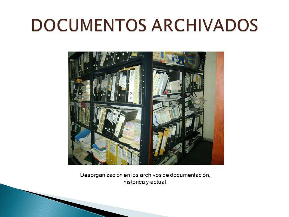 DOCUMENTOS ARCHIVADOS