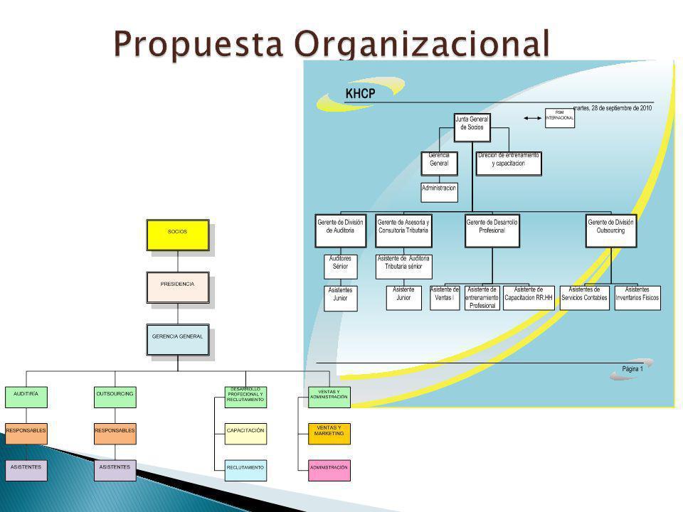 Propuesta Organizacional