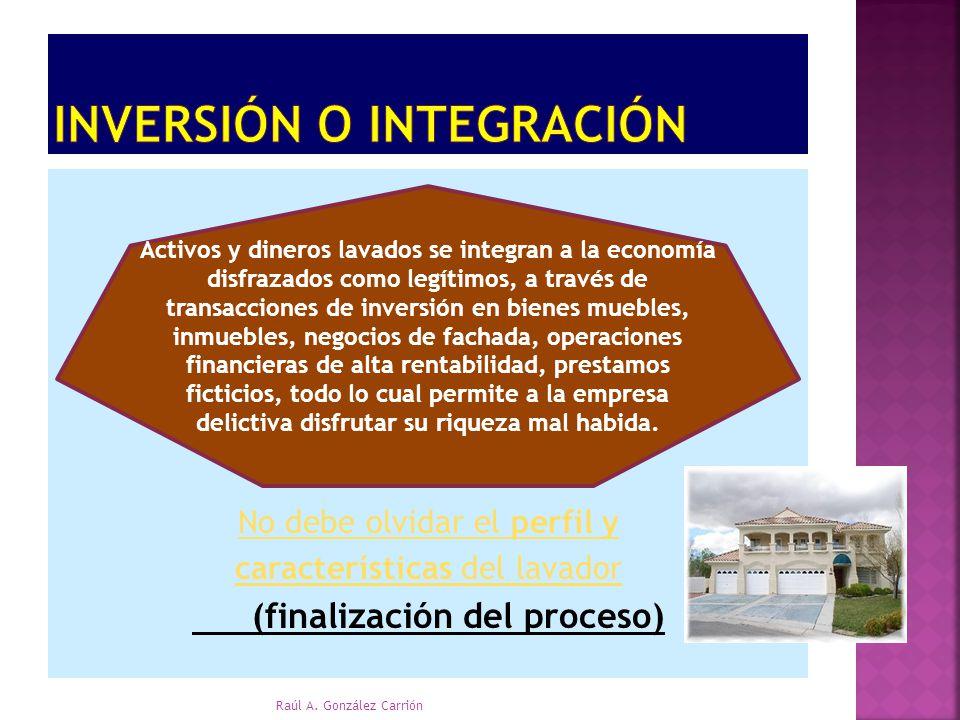 Inversión o Integración