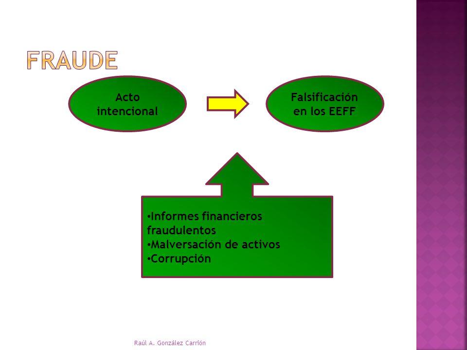 Falsificación en los EEFF