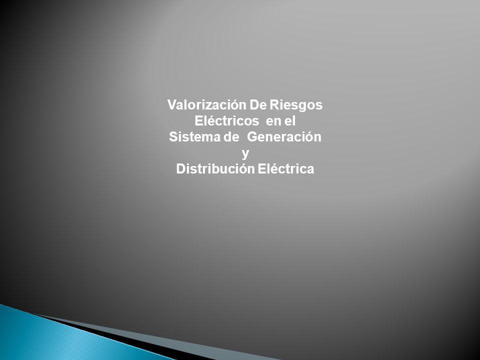 Valorización De Riesgos Distribución Eléctrica