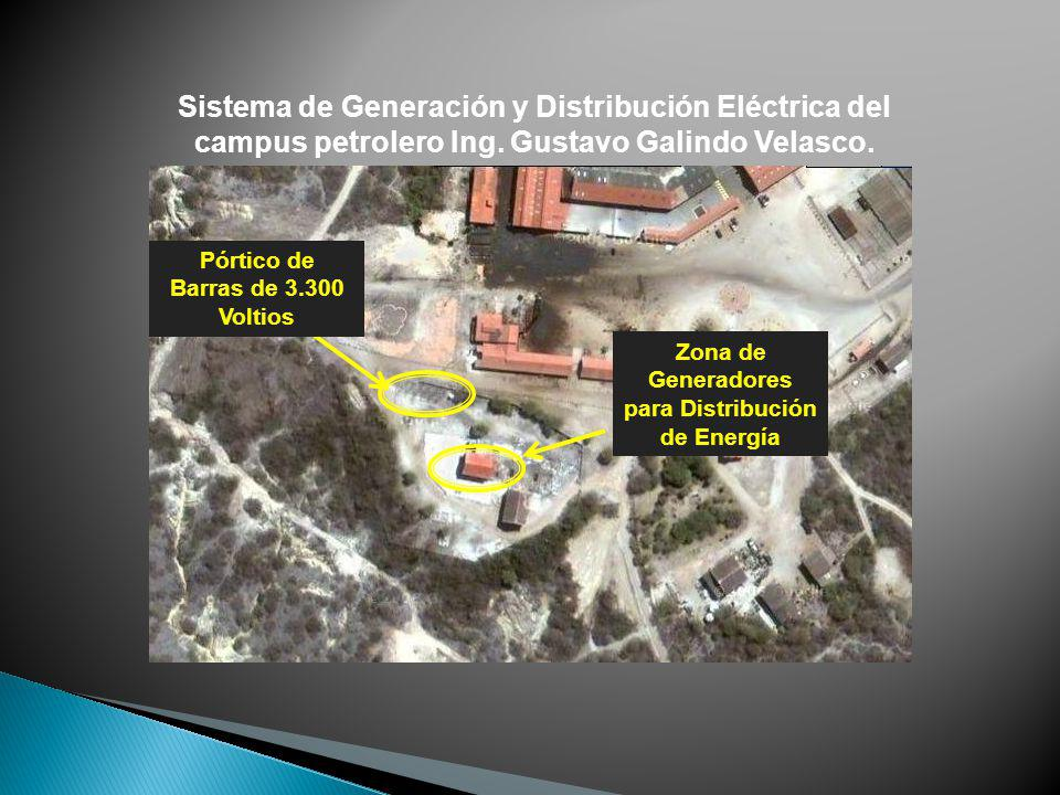 Sistema de Generación y Distribución Eléctrica del campus petrolero Ing. Gustavo Galindo Velasco.