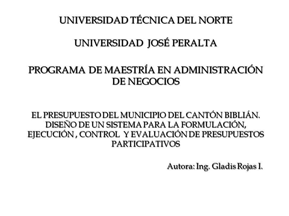 Autora: Ing. Gladis Rojas I.
