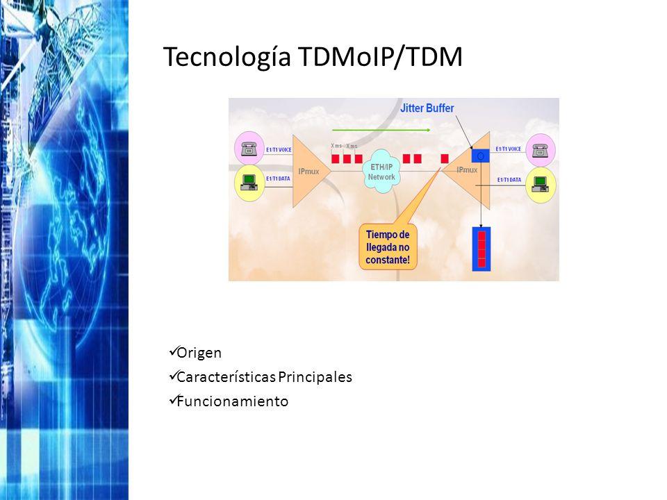 Tecnología TDMoIP/TDM