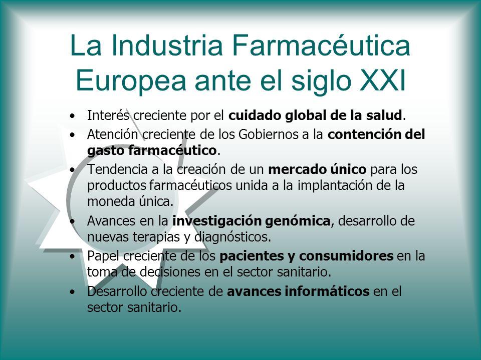 La Industria Farmacéutica Europea ante el siglo XXI