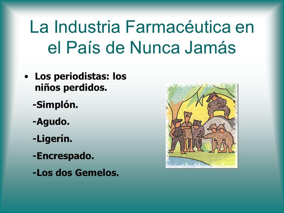 La Industria Farmacéutica en el País de Nunca Jamás