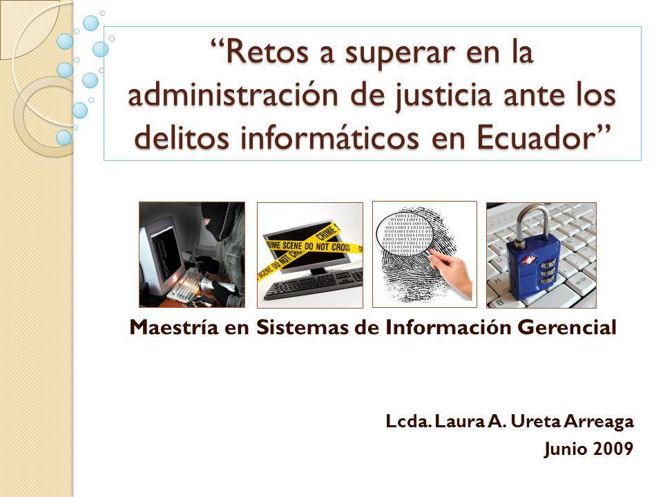 Lcda. Laura A. Ureta Arreaga Junio 2009