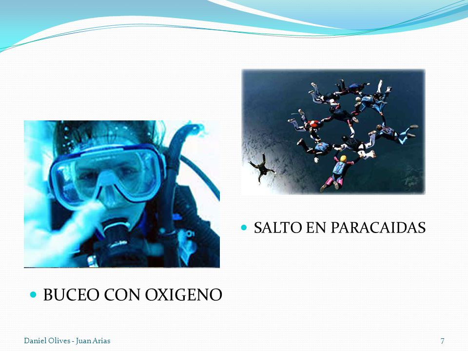 SALTO EN PARACAIDAS BUCEO CON OXIGENO Daniel Olives - Juan Arias