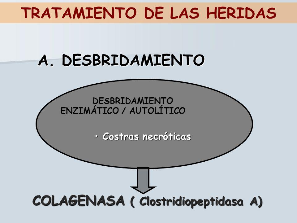 TRATAMIENTO DE LAS HERIDAS