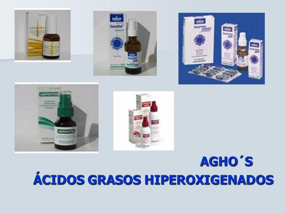 AGHO´S ÁCIDOS GRASOS HIPEROXIGENADOS