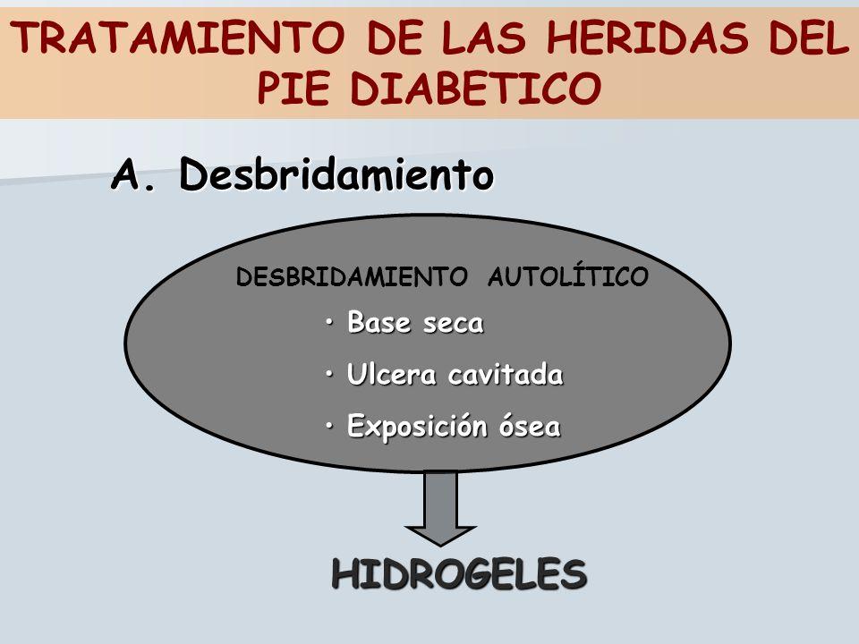 TRATAMIENTO DE LAS HERIDAS DEL PIE DIABETICO
