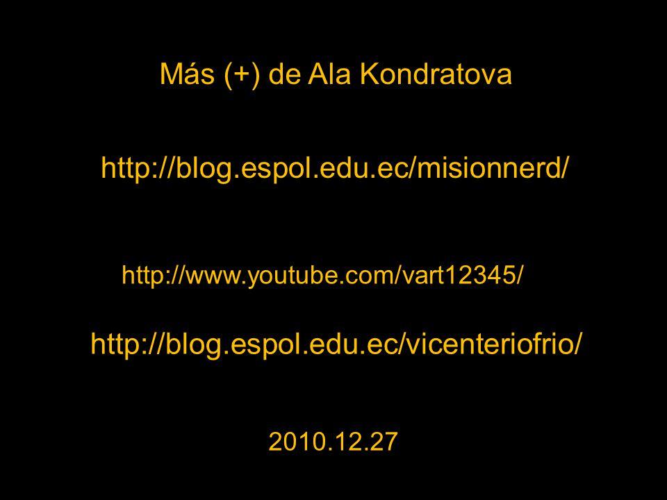 Más (+) de Ala Kondratova