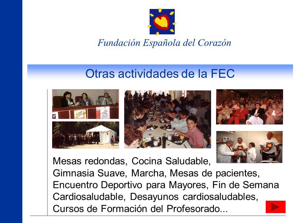 Otras actividades de la FEC