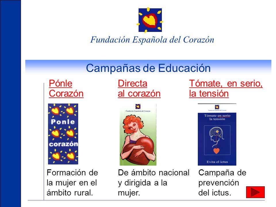 Campañas de Educación Pónle Corazón Directa al corazón