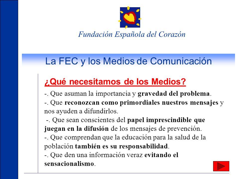 La FEC y los Medios de Comunicación