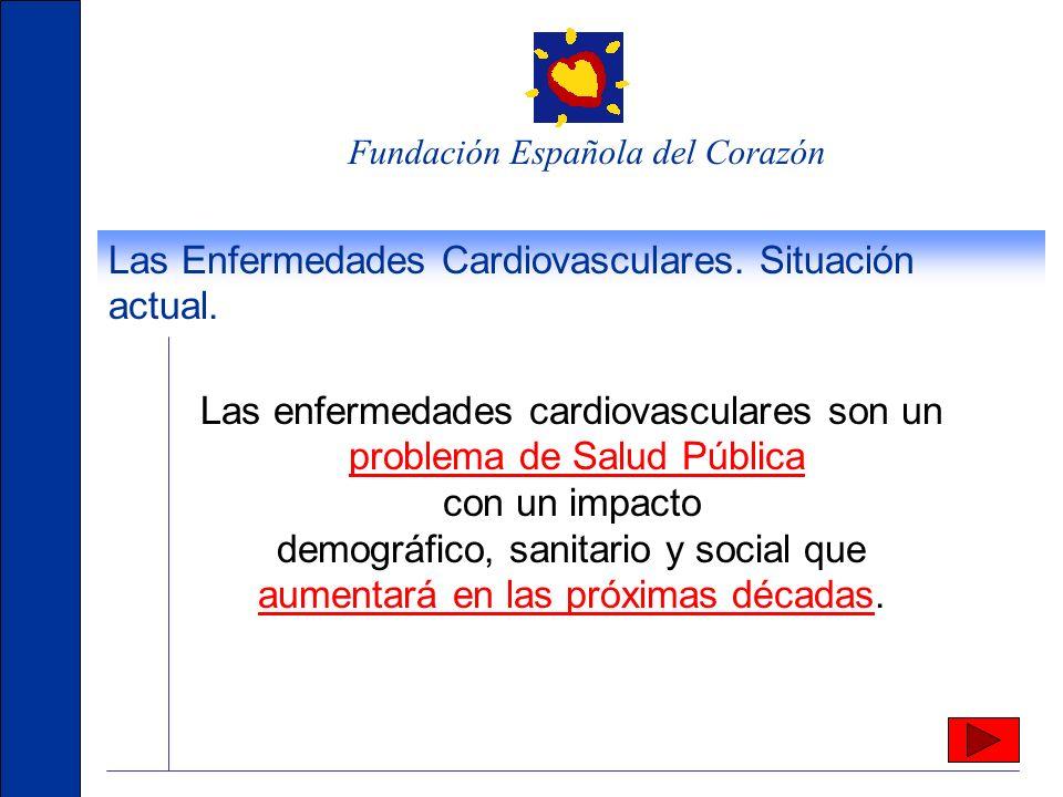 Las Enfermedades Cardiovasculares. Situación actual.