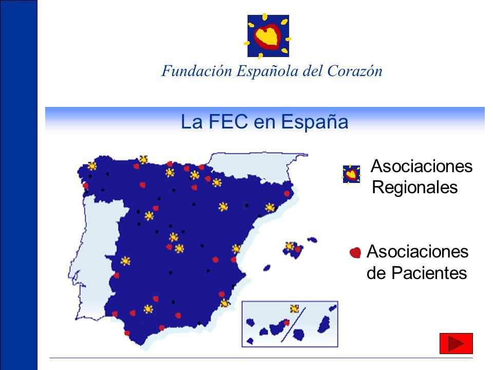 La FEC en España Asociaciones Regionales de Pacientes