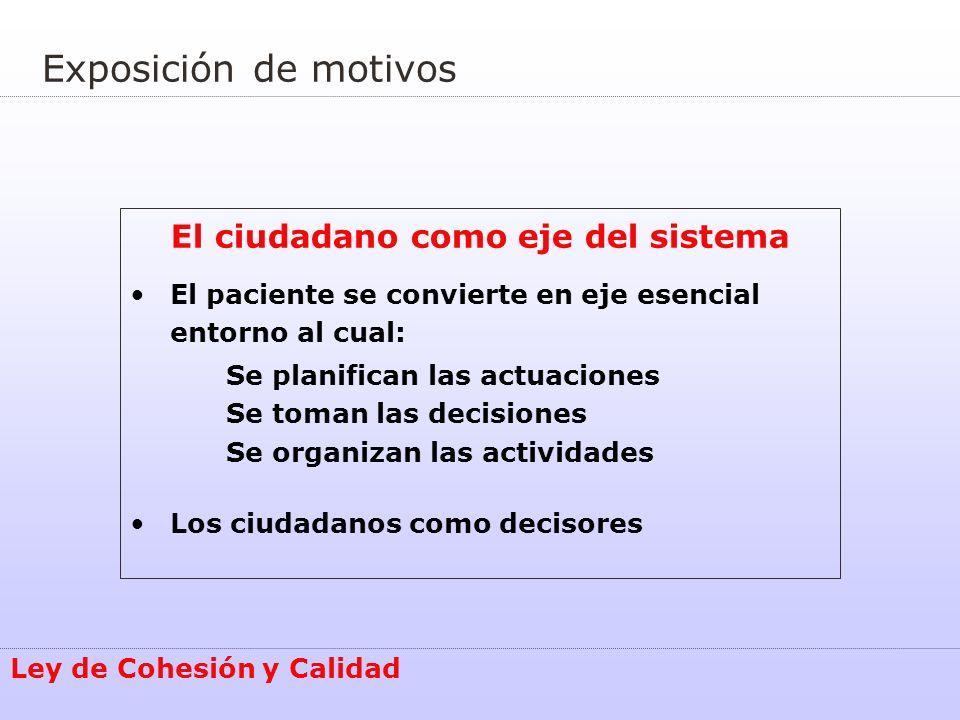 El ciudadano como eje del sistema