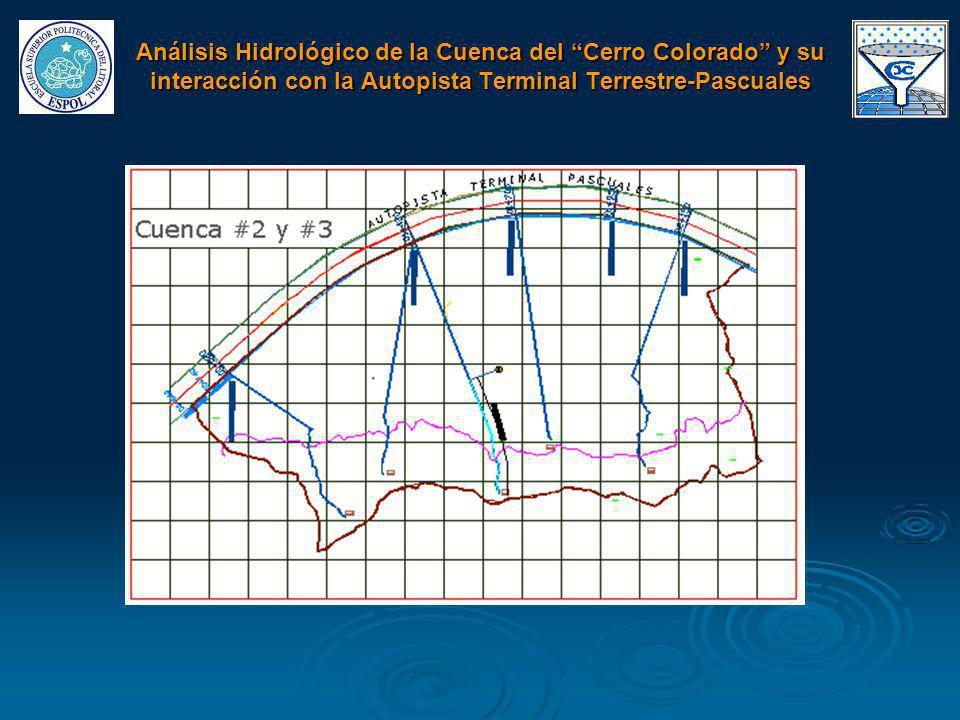Análisis Hidrológico de la Cuenca del Cerro Colorado y su interacción con la Autopista Terminal Terrestre-Pascuales