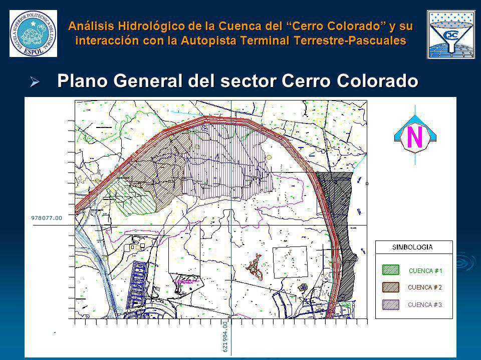 Plano General del sector Cerro Colorado