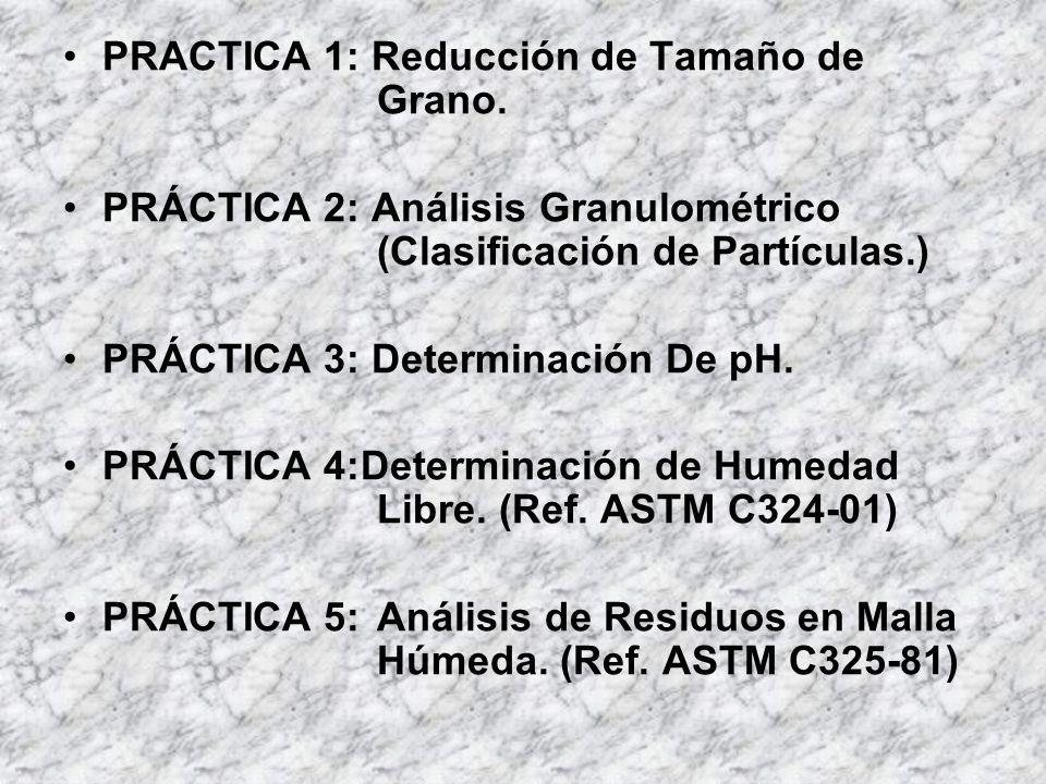PRACTICA 1: Reducción de Tamaño de Grano.