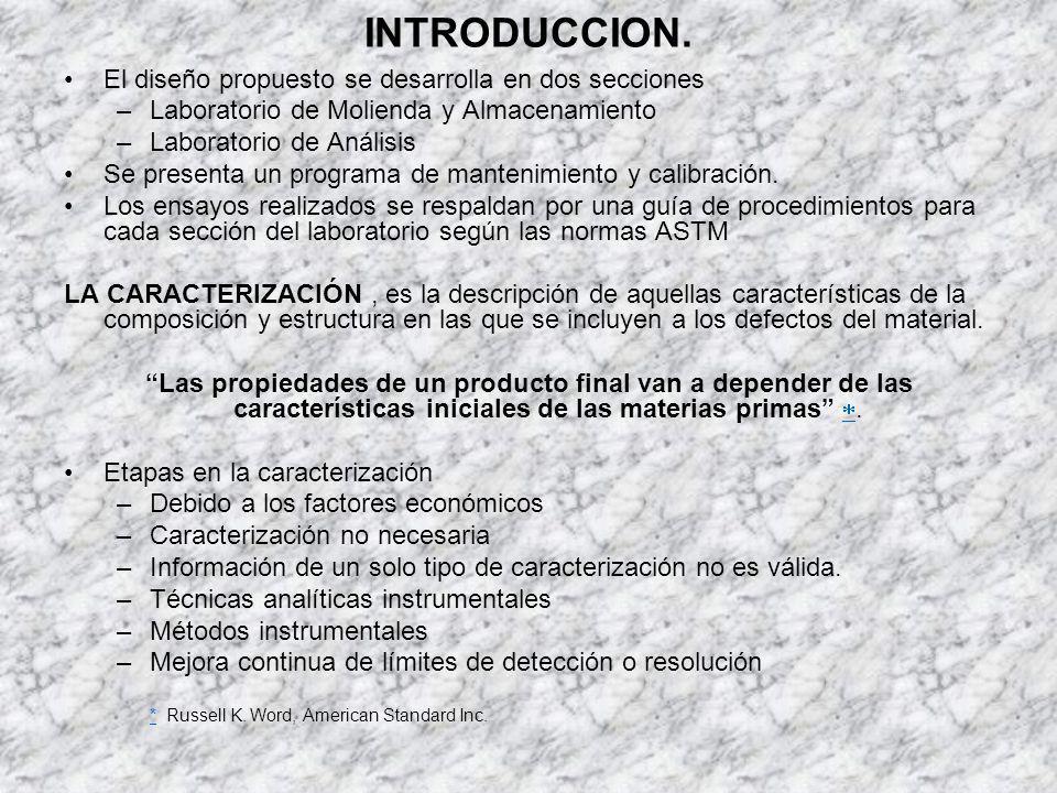 INTRODUCCION. El diseño propuesto se desarrolla en dos secciones