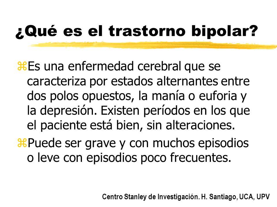 ¿Qué es el trastorno bipolar