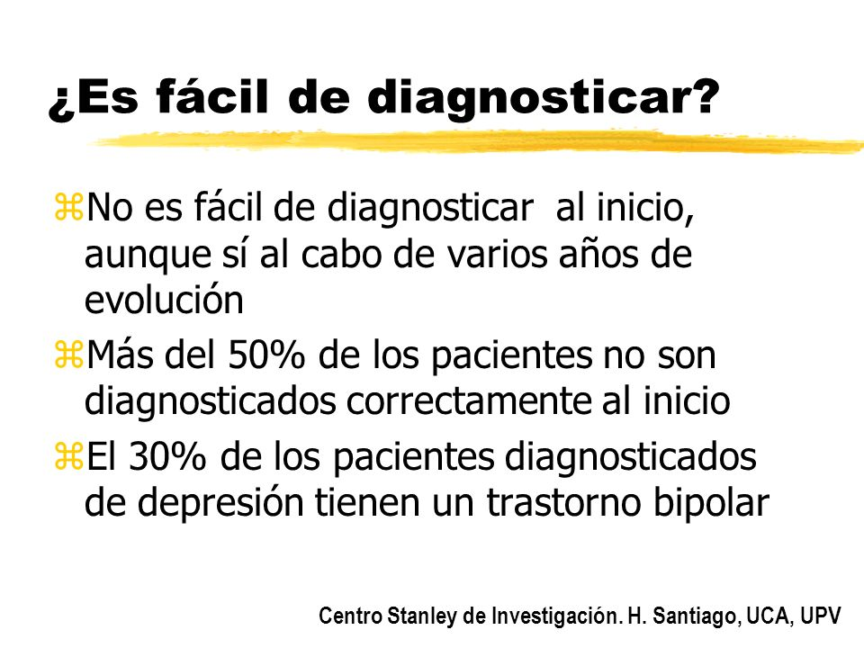 ¿Es fácil de diagnosticar