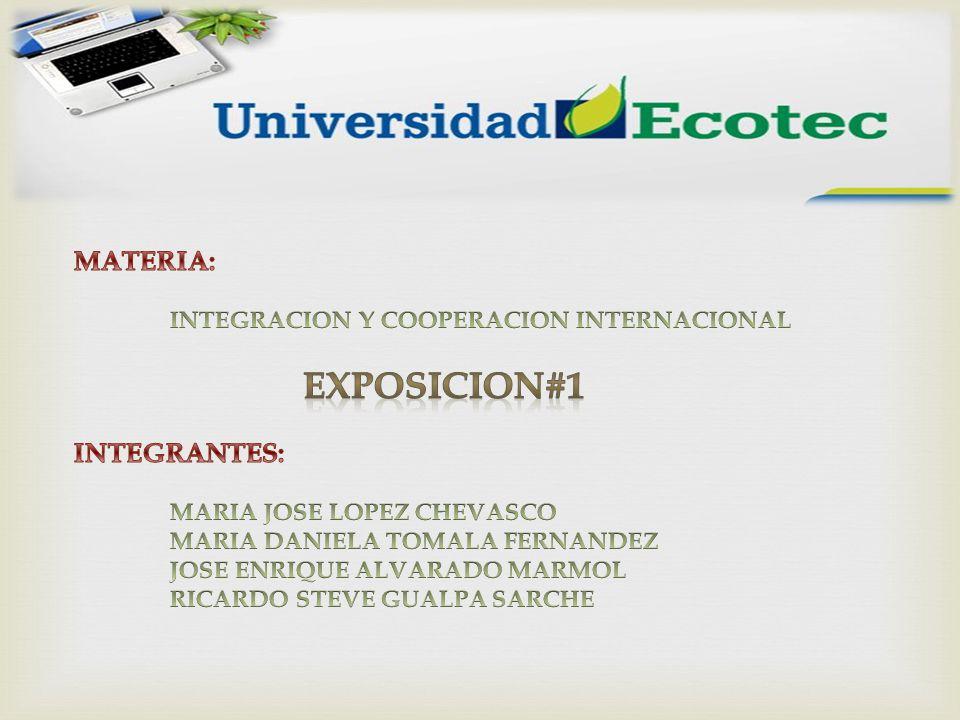 EXPOSICION#1 MATERIA: INTEGRANTES: