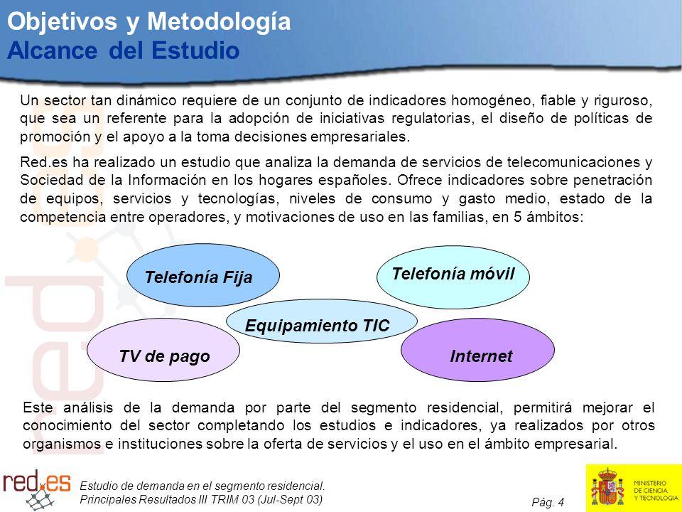 Objetivos y Metodología Alcance del Estudio