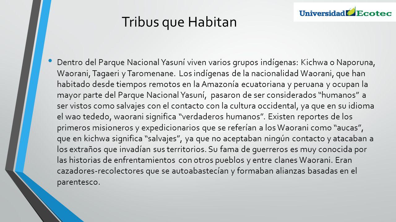 Tribus que Habitan