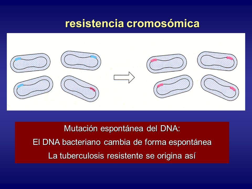 resistencia cromosómica