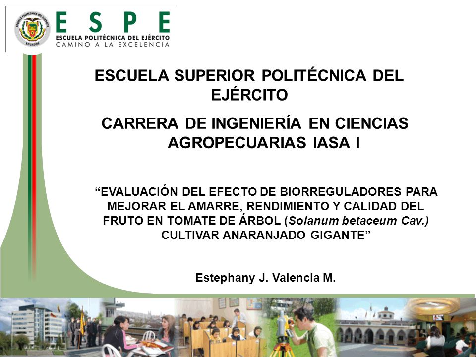 ESCUELA SUPERIOR POLITÉCNICA DEL EJÉRCITO
