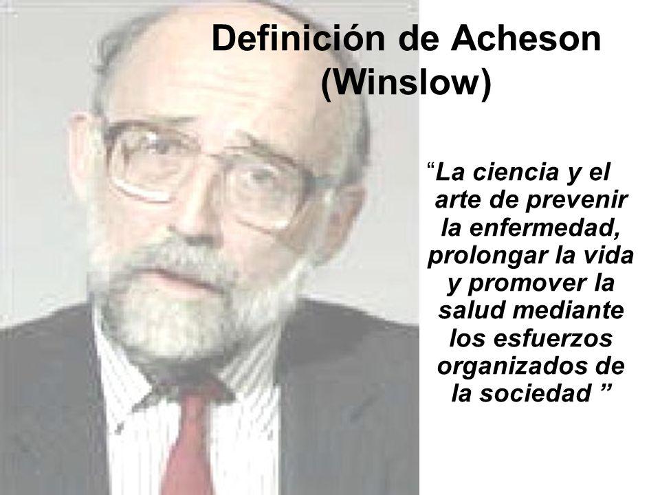 Definición de Acheson (Winslow)