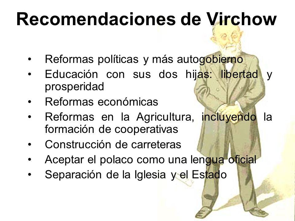 Recomendaciones de Virchow