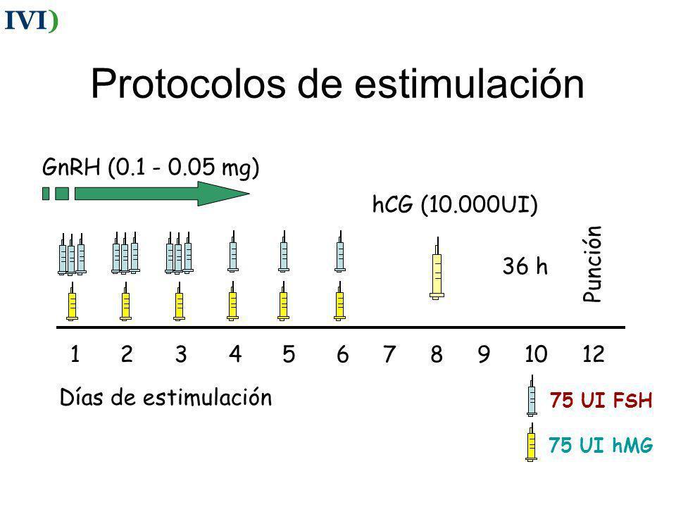 Protocolos de estimulación