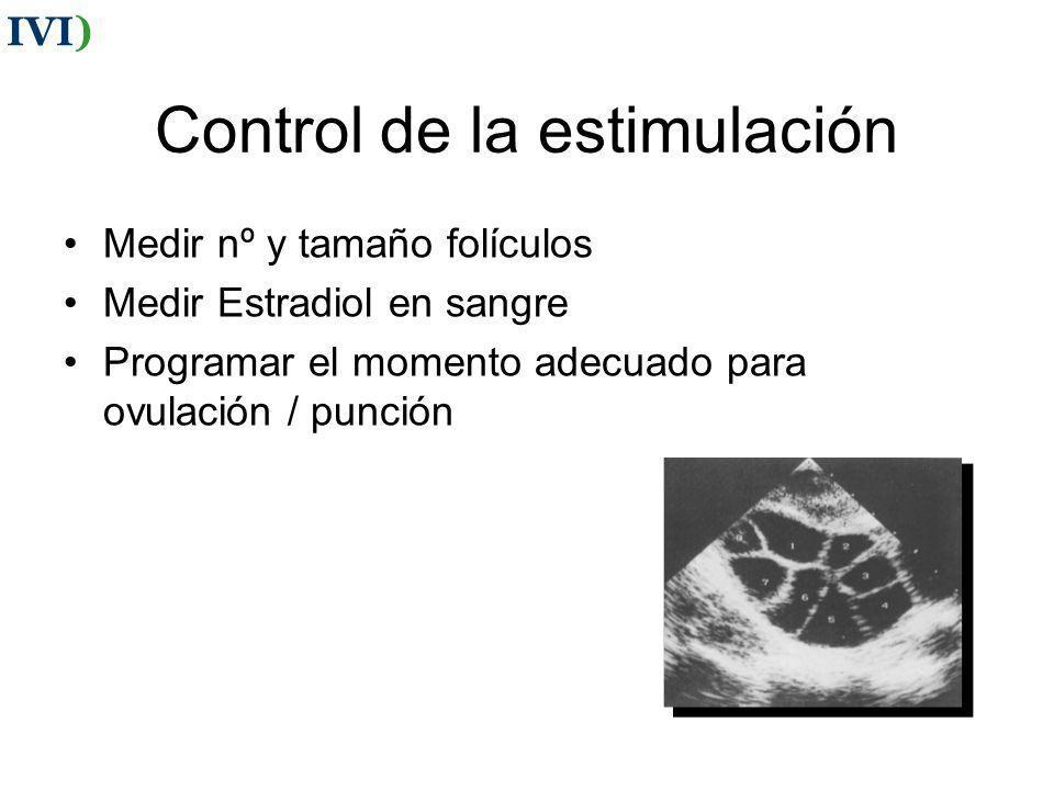 Control de la estimulación