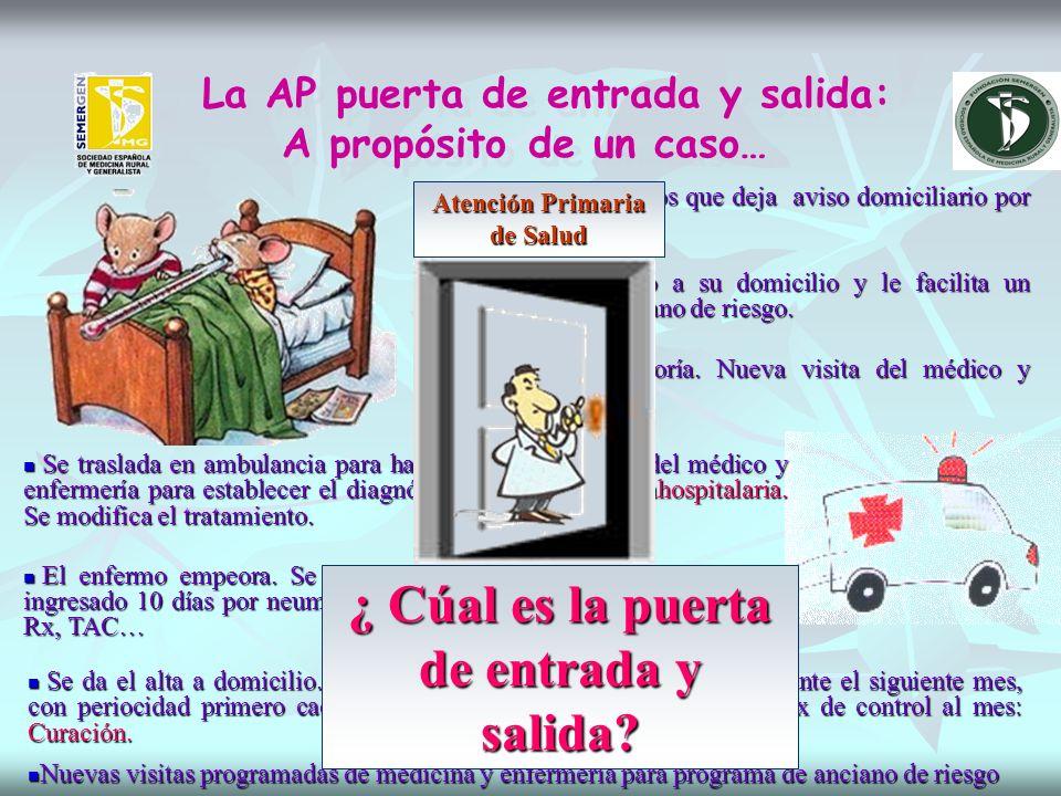 La AP puerta de entrada y salida: A propósito de un caso…