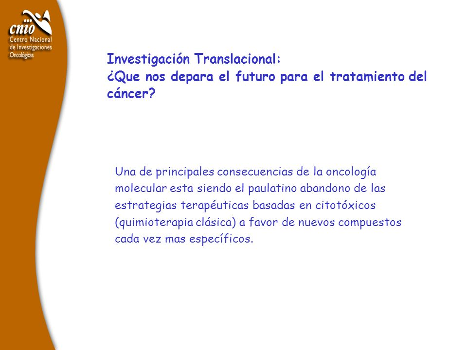Investigación Translacional: