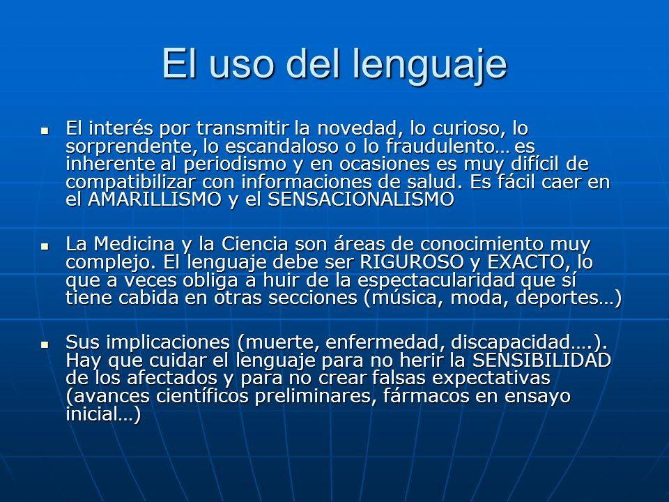 El uso del lenguaje