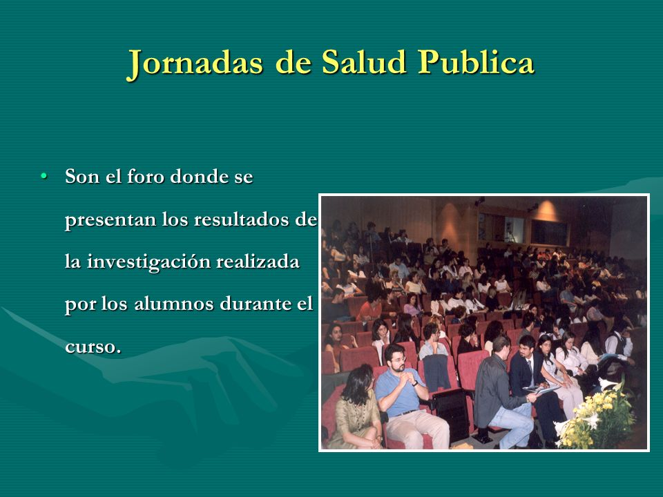 Jornadas de Salud Publica
