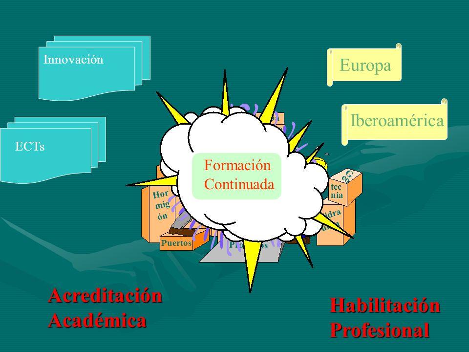 Acreditación Académica Habilitación Profesional