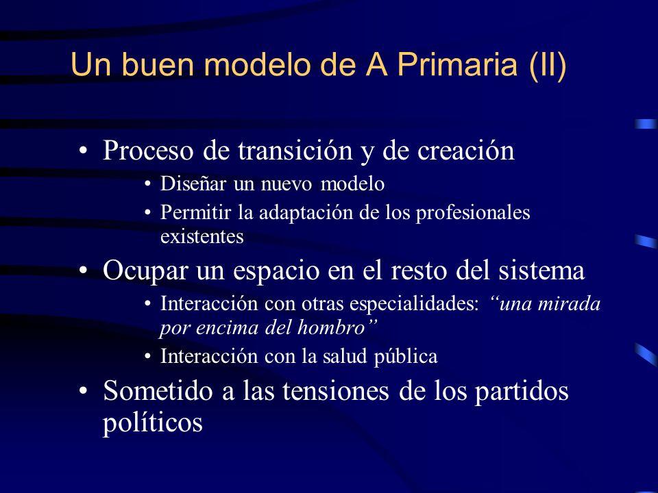 Un buen modelo de A Primaria (II)