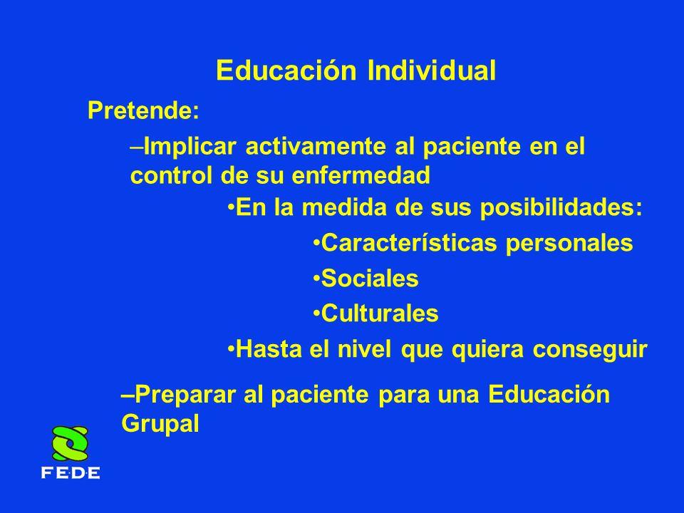Educación Individual Pretende: