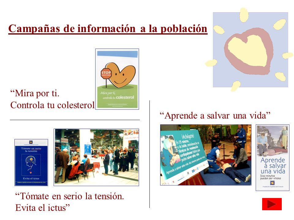 Campañas de información a la población