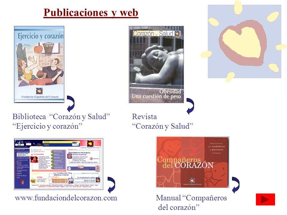 Publicaciones y web Biblioteca Corazón y Salud Ejercicio y corazón