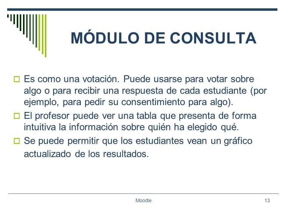 MÓDULO DE CONSULTA