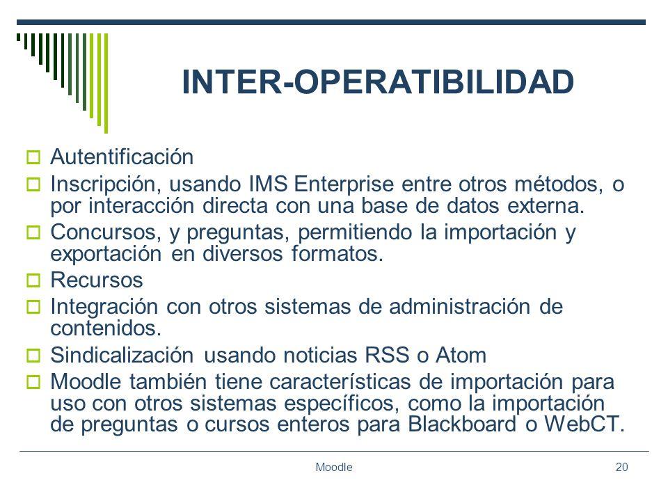 INTER-OPERATIBILIDAD