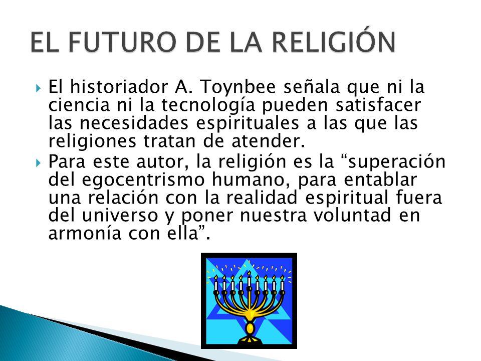 EL FUTURO DE LA RELIGIÓN