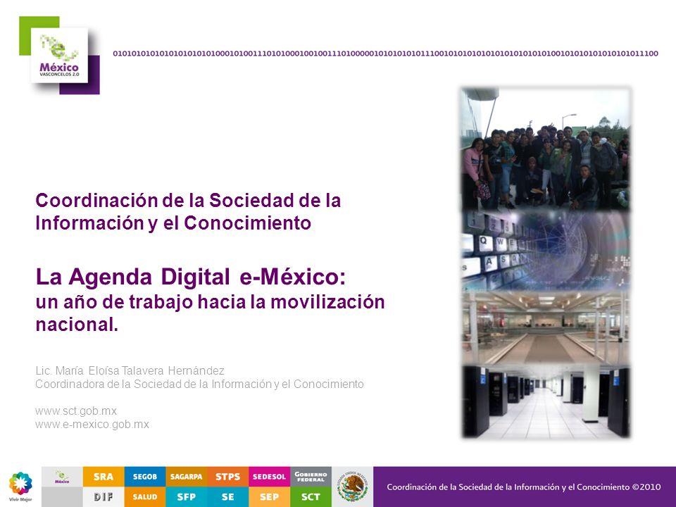 La Agenda Digital e-México: